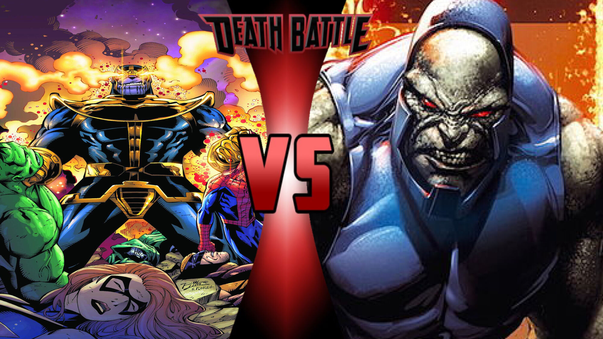 Thanos Darkseid Death Battle - Thanos m