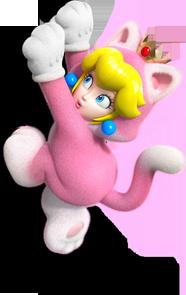 File:Cat Princess Peach Artwork (alt) - Super Mario 3D World.png