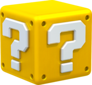 Question Block Artwork - Super Mario 3D World