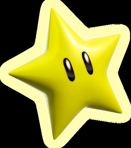 File:Super Star Artwork - Super Mario 3D World.png
