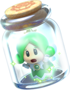 Sprixie Princess Jar Artwork - Super Mario 3D World