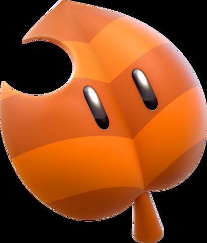 File:Super Leaf Artwork - Super Mario 3D World.png