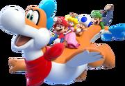 Plessie Artwork - Super Mario 3D World