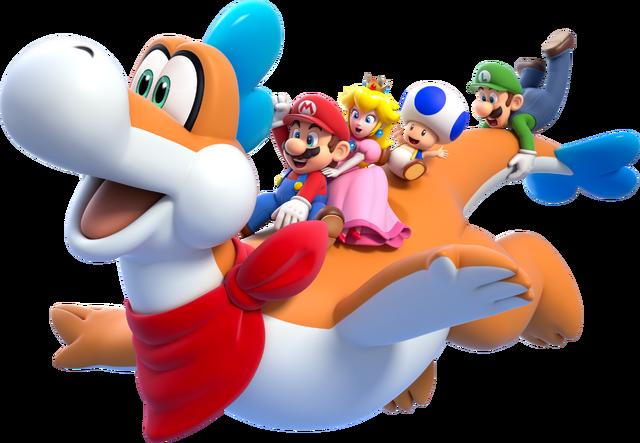 File:Plessie Artwork - Super Mario 3D World.png
