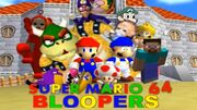 Super Mario 64 Bloopers New Logo