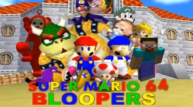 File:Super Mario 64 Bloopers New Logo.jpg