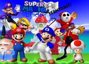 Mario, SMG4, Toad, Teletubbie, Old Man, Wario, Waluigi, Dr. Robotnik and Shy Guy