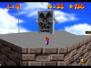 Super Mario 64 Whomps Fortress 3