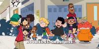 Noobies vs. Smoothies