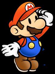 180px-Mario Stare - Paper Mario The Thousand-Year Door