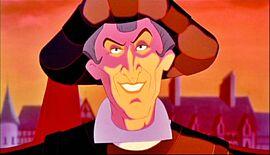 Frollo's Evil Smile
