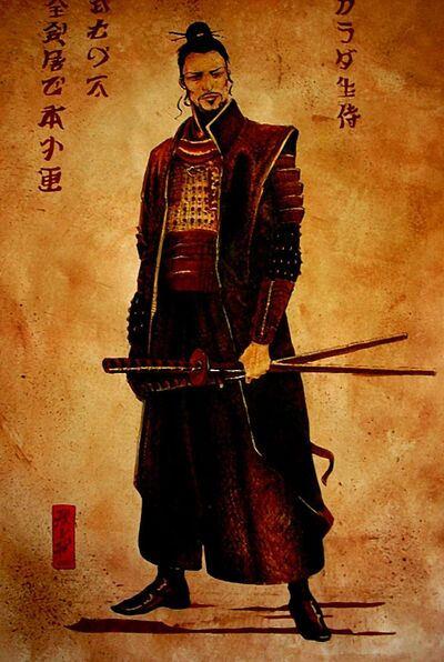 Samurai by lubliner
