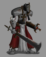 Knight Templar Steel Warrior