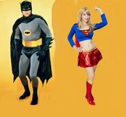 Batman and Supergirl