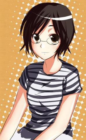 A girl from class by Kouken