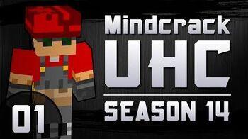 """Mindcrack UHC Season 14 Episode 01 """"Getting Wood with Zisteau""""-0"""