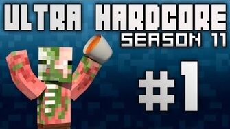 "Minecraft Ultra Hardcore S11 E01 - ""It's Always Sunny"""