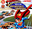 Superman Meets the Motorsports Champions