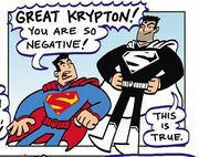 Negative Superman Family Adventures