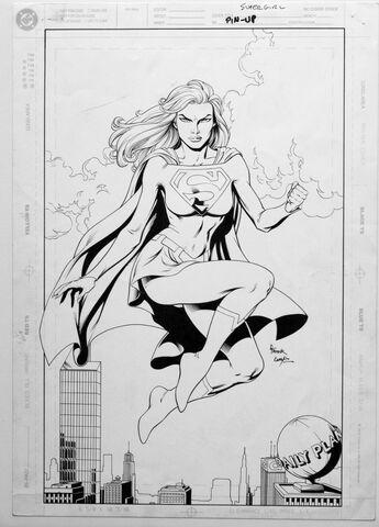 File:Supergirl pin-up pencils.jpg