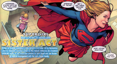Supergirl comic TV Guide