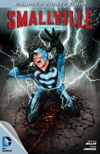 Smallville S11 111 Digital Cover