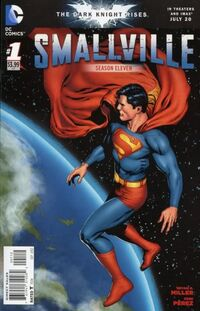 Smallville Season 11 varient cover -1
