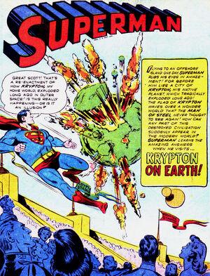 Krypton on Earth