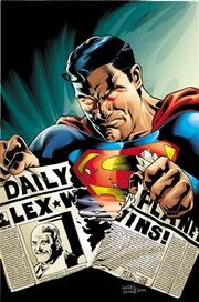 Superman President Luthor