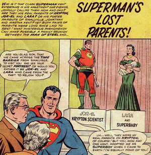 Superman's Lost Parents