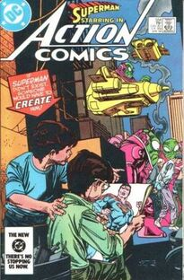 Action Comics Issue 554