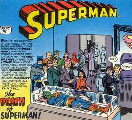 SupermanDeath-Superman149November1961
