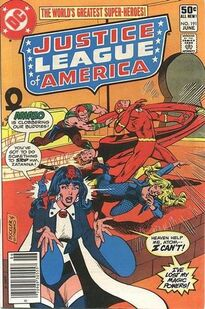 Justice League of America Vol 1 191