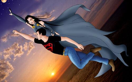 Superboy and Raven