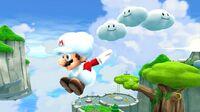 Cloud Mario Fluffy Bluff