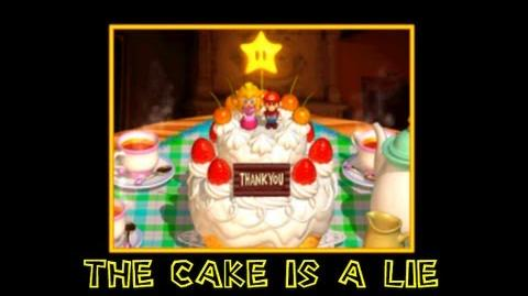 Super Mario 64 Bloopers Short: The Cake Is a Lie!