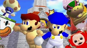 SM64 bloopers The Hangover