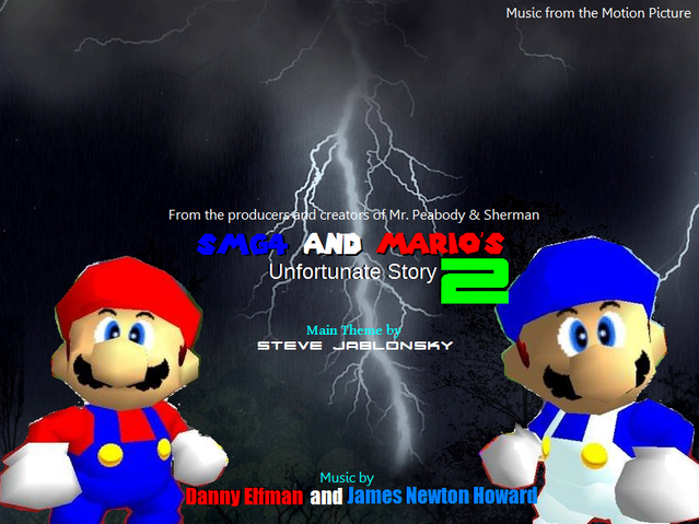 File:SMG4 and Mario's Unfortunate Story 2 (2019) Album.PNG