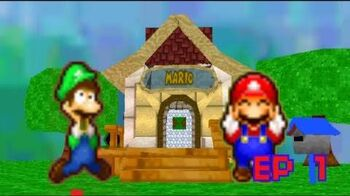 SM64 the adventures of mario and luigi ep 1