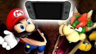 SM64 Mario gets a Nintendo Switch!