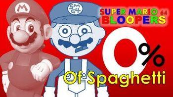 Super mario 64 bloopers 0% of spaghetti