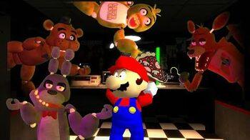 Retarded64 Freddy's spaghettiria