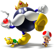 King Bob-omb VS Koopa and Toad