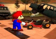 MarioFindsHisNewKart