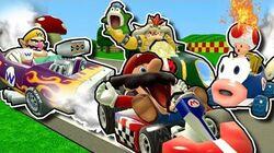Retarded64 Stupid Mario Kart