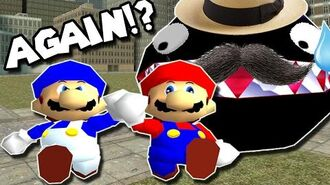 SM64 Bloopers Who let the chomp out...AGAIN!?