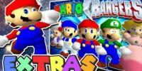 Mario's Extras: Mighty Morphin' Mario Rangers
