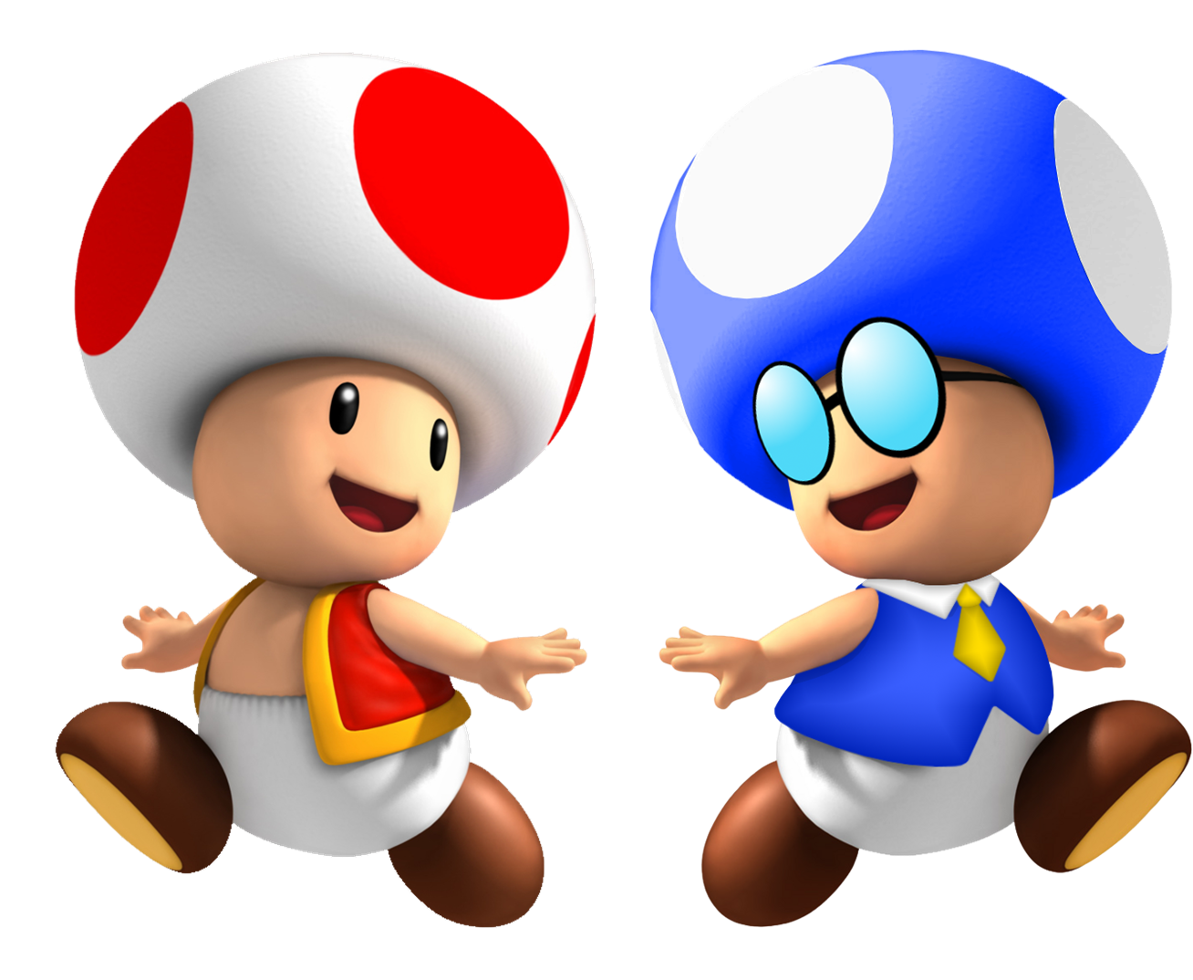 Image - Toadbert And Red Toad.png
