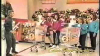 Supermarket Sweep - (Mother-Daughter) Joyce & Natalie vs. Sandy & Robyn vs. Donna & Jillian (1994)