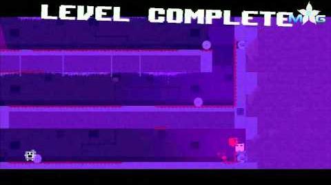 Super Meat Boy Walkthrough - The Hospital 2-3 Memories